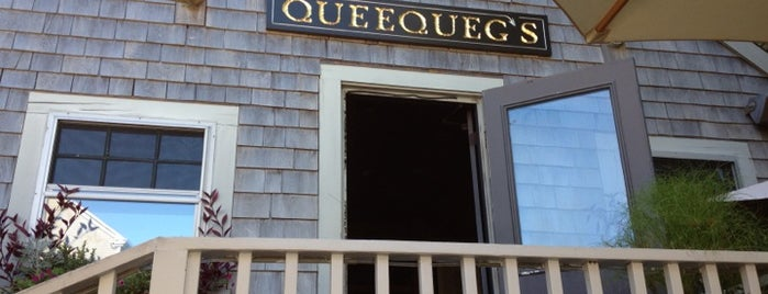 Queequeg's is one of Nantucket.