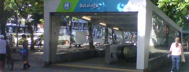 MetrôRio - Estação Botafogo is one of Empresas e Estabelecimentos de Botafogo RJ.
