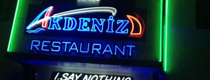 Amigos Akdeniz Restaurant is one of Bodrums' populars.
