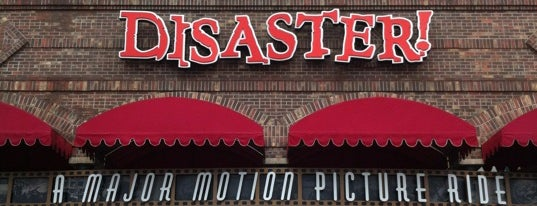 Disaster!: A Major Motion Picture Ride...Starring You! is one of Universal Studios.
