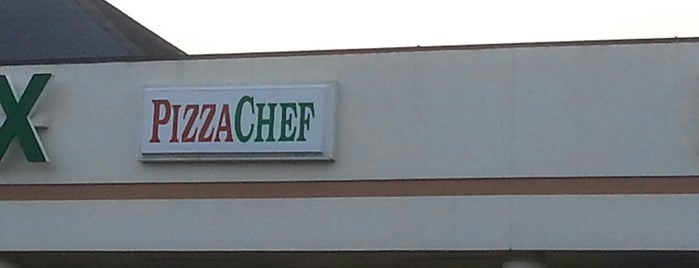 Pizza Chef is one of Food in The Shoals Area.