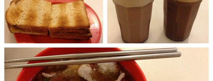 Ya Kun Kaya Toast is one of Medan culinary spot.