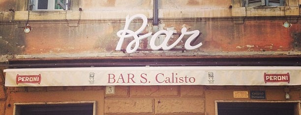 Bar San Calisto is one of Rome.