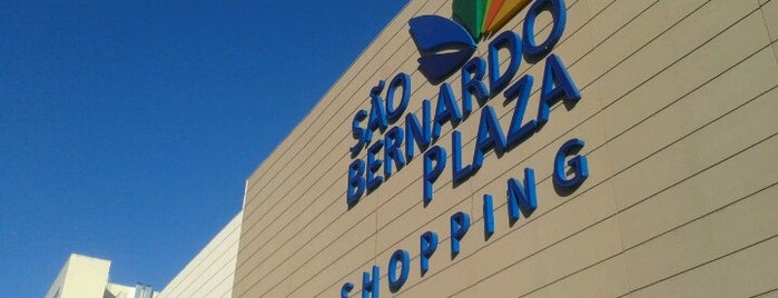 São Bernardo Plaza Shopping is one of lugares mais visitados.