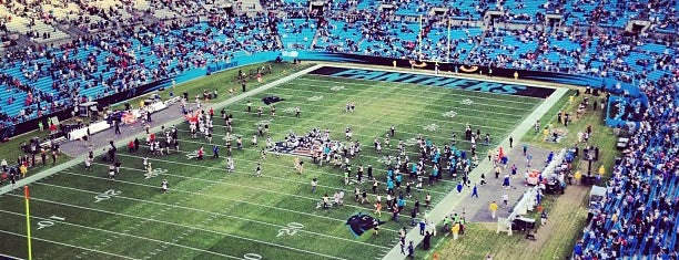Bank of America Stadium is one of NFL STADIUMS IVE BEEN TO.