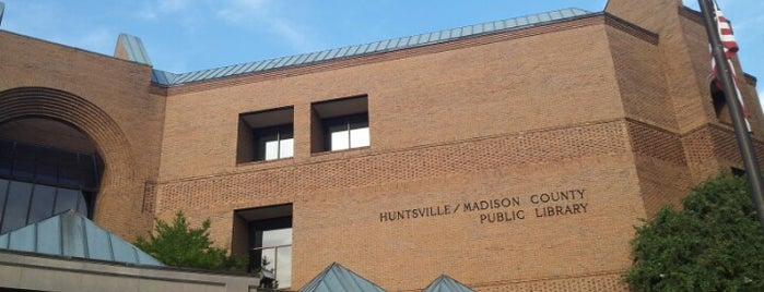 Huntsville/Madison County Public Library is one of Favorite Places.