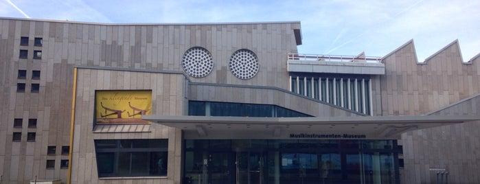 Musikinstrumenten Museum is one of #MuseumMarathon Berlin 2014.