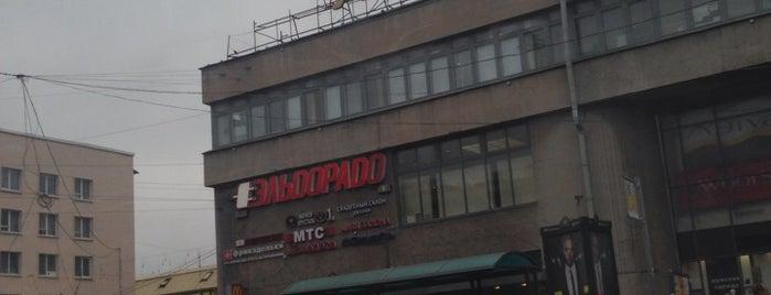 Универмаг «Кировский» is one of TOP-100: Торговые центры Санкт-Петербурга.