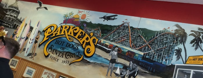 Parker's Hot Dogs of Santa Cruz is one of Road trip.