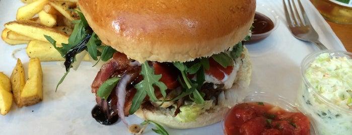 Barn Burger is one of ulubione jedzonko.