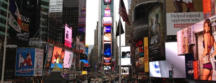 Times Square is one of New York.