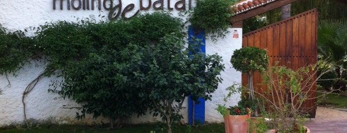 Molino de Batán is one of Restaurantes Malaga.