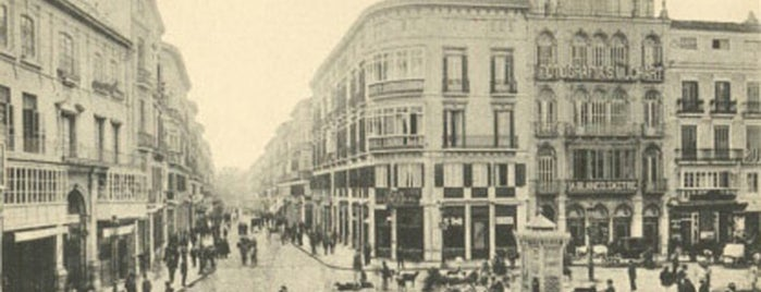 Calle Marqués de Larios is one of Lugares Históricos en Málaga - Historic Sites.