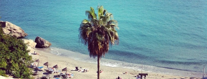 Playa Calahonda is one of Nerja.