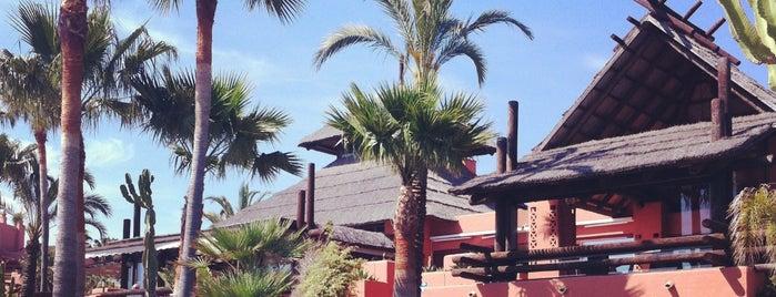 TikiTano Beach Restaurant & Lounge is one of Restaurantes Malaga.