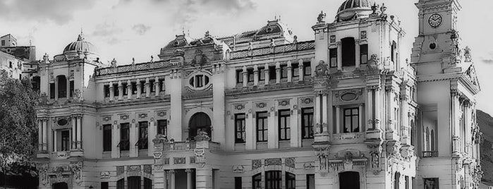 Ayuntamiento de Málaga is one of Lugares Históricos en Málaga - Historic Sites.