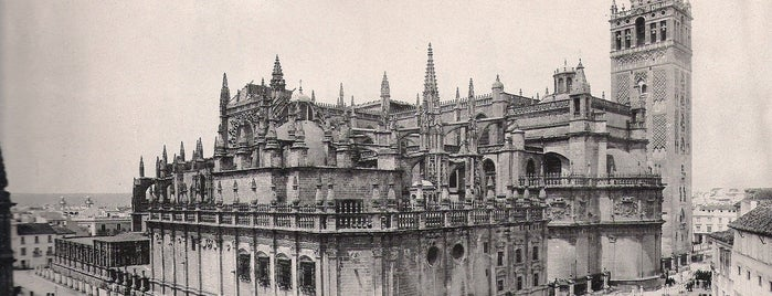 Catedral de Sevilla is one of HOSTAL TORRE MONTESANTO.