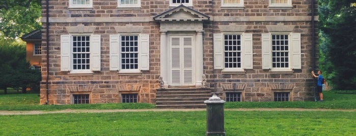 Cliveden of the National Trust is one of Historic Germantown Sites.