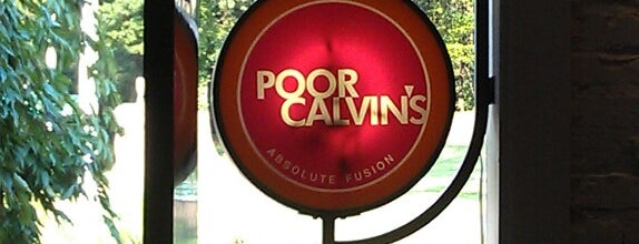 Poor Calvin's is one of The 15 Best Places for a Pasta in Atlanta.