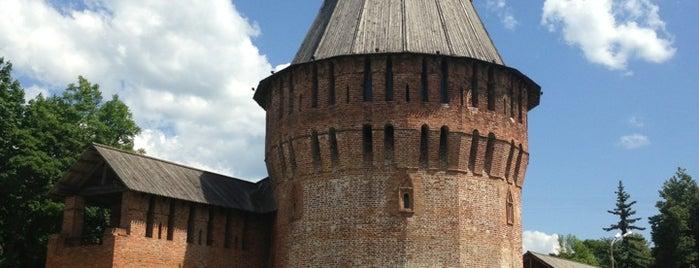 Smolensk is one of cities.