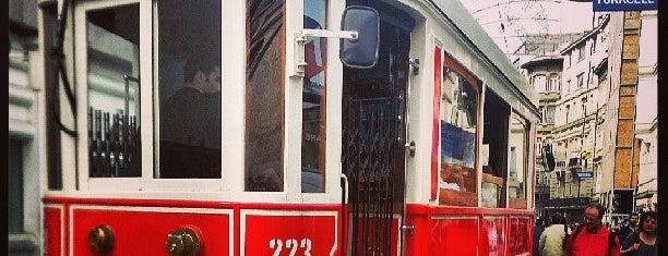 Taksim - Tünel Nostaljik Tramvayı (T2) is one of Temmuz 7 2017.