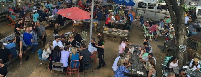 Truck Yard is one of America's Best Beer Gardens.