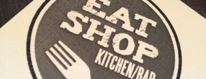 Eat Shop Kitchen/Bar is one of Businesses & stores supporting Sunday liquor sales.
