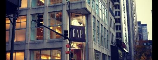 Gap is one of The Crowe Footsteps.