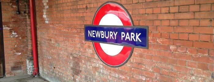Newbury Park London Underground Station is one of Tube Challenge.