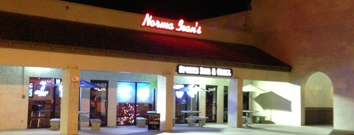 Norma Jean's Sports Bar & Grill is one of Nightlife.