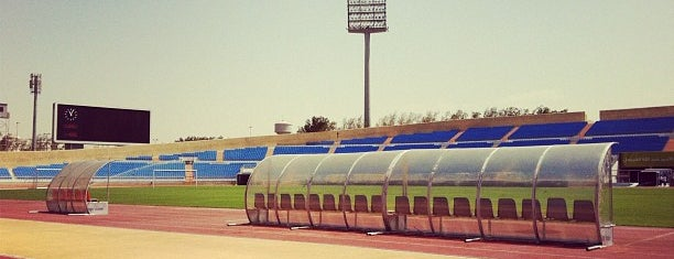Prince Abdullah Al Faisal Stadium is one of Nedal.