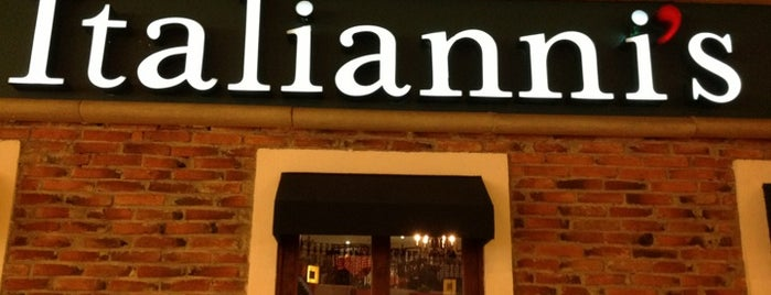Italianni's is one of 20 favorite restaurants.