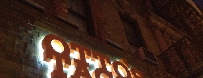 Otto's Tacos is one of Off The Menu: New York.