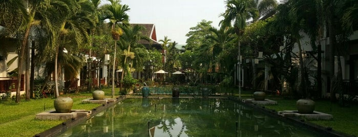 Green Park Boutique Hotel is one of Laos.