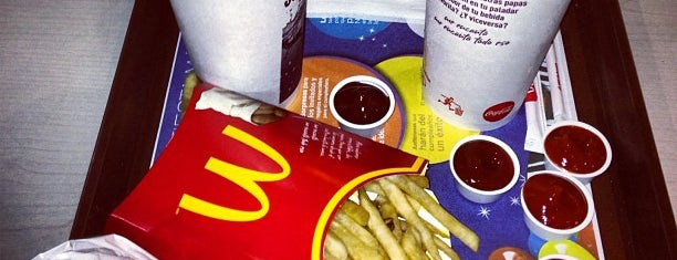 McDonald's is one of Donde Comer.