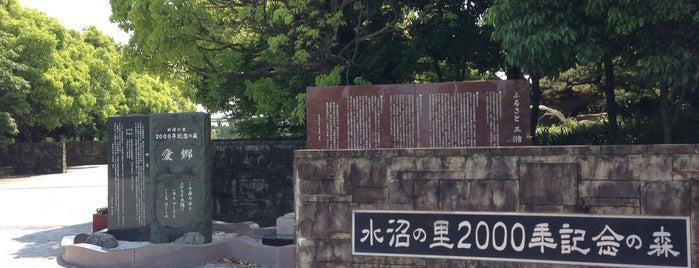 水沼の里2000年記念公園 is one of さくらスポット.