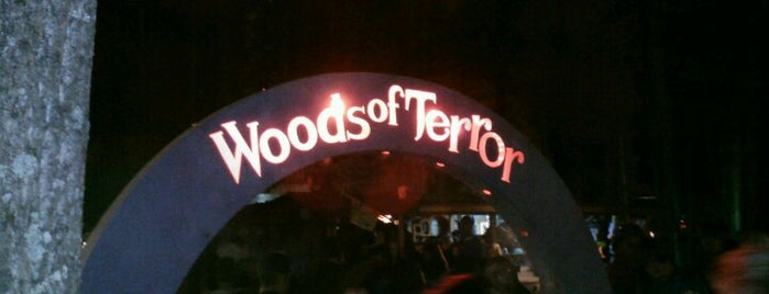 The Woods of Terror is one of Best Haunts and Scares-Halloween Part2.