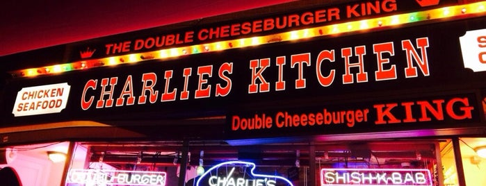 Charlie's Kitchen is one of Nearby Neighborhoods: Harvard Square.