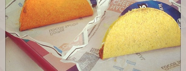 Taco Bell is one of Favorite's.