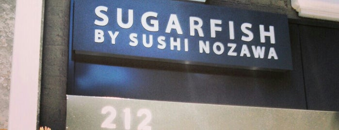 SUGARFISH by sushi nozawa is one of The 13 Best Japanese Restaurants in Beverly Hills.