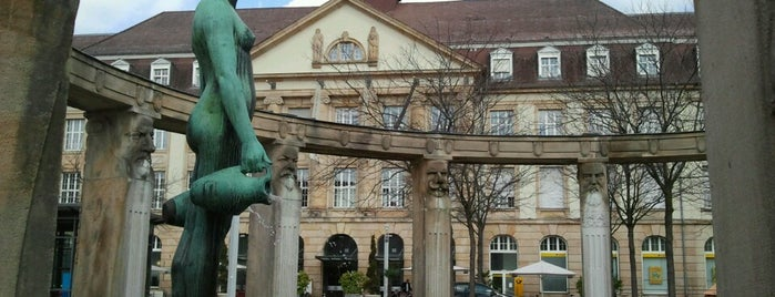 Stephanplatz is one of Karlsruhe + trips.