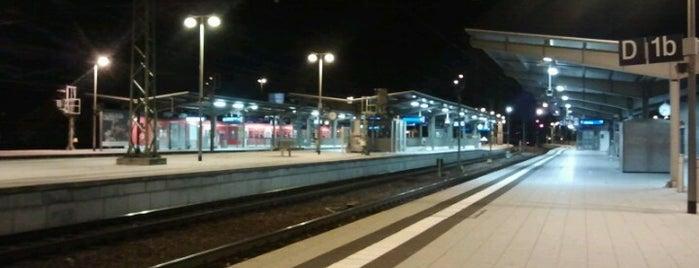 Bahnhof Bruchsal is one of Bahnhöfe Deutschland.