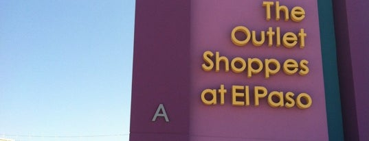 Outlet Shoppes at El Paso is one of The 15 Best Places to Shop in El Paso.