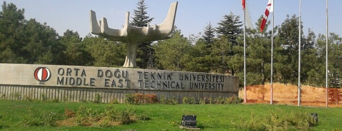 A1 Kapısı is one of Best Of Middle East Technical University.
