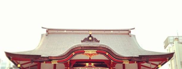 Hanazono Shrine is one of Tokyo.