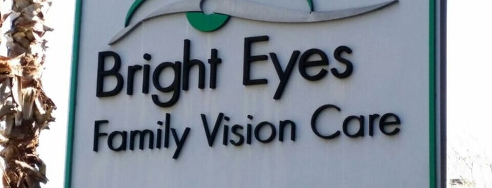 Bright Eyes Family Vision Care is one of 4sqDay Tampa Bay.
