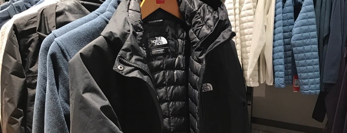 The North Face is one of Shop until you drop.