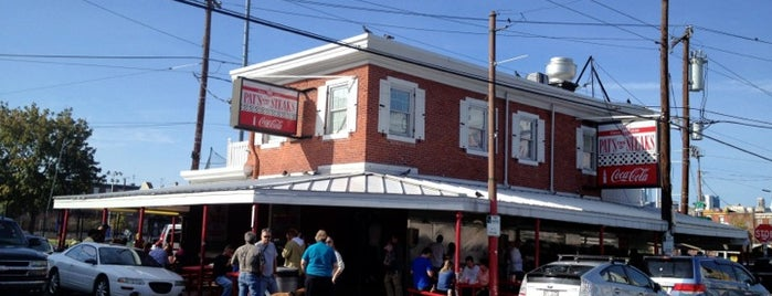 Pat's King of Steaks is one of 10 Best Philly Cheesesteaks.