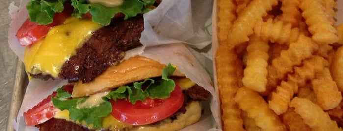 Shake Shack is one of Rob's Food Spots.