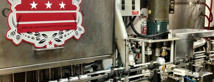 DC Brau Brewing Co is one of The 15 Best Places for Tours in Washington.